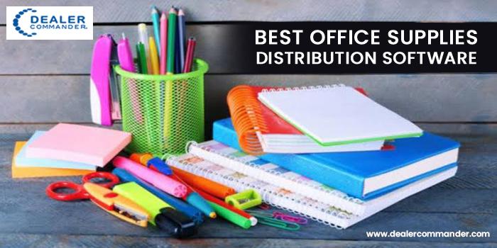 Best Office supplies Distribution Software