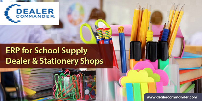 ERP for School Supply Dealer & Stationery Shops